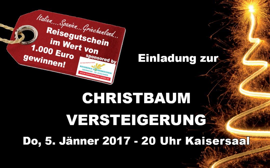 Christbaumversteigerung 2017