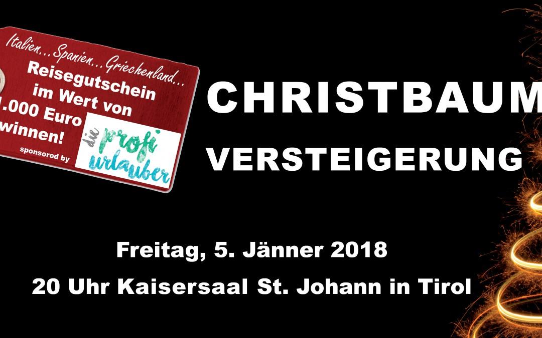 Christbaumversteigerung 2018